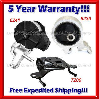 K251 Fits 1995-99 Toyota Tercel 1.5L Engine Motor & Trans Mount for 3Speed AUTO