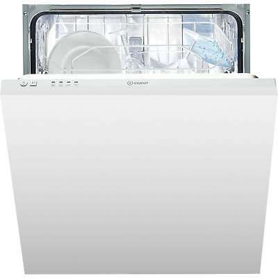 Indesit DIF04B1 A+ Full Size 13 Place 4 Programmes Integrated Dishwasher