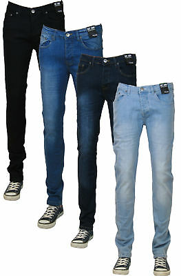 NEW MENS LOYALTY & FAITH SKINNY STRETCH SLIM FIT DENIM JEANS - All Pants Trouser
