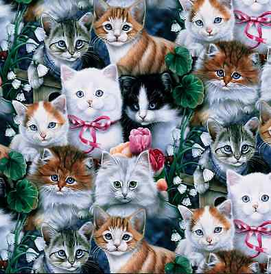 Cats Fleece Throw Blanket