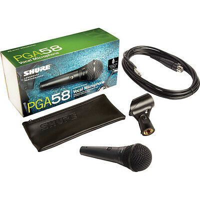 Shure Professional Microphone PGA58 QTR