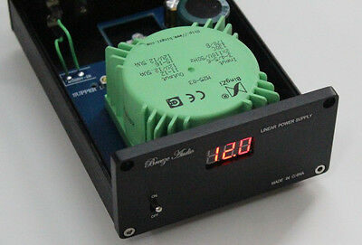 Hifi linear DC 12V output  power 25W USB/amp/DAC/external power supply