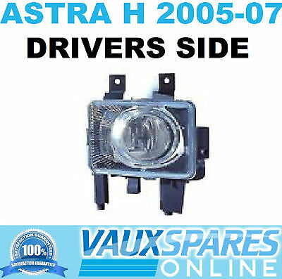 Vauxhall Astra H Front Fog Spot Light Drivers Off Side 2005-07 Sri Cdti Twintop