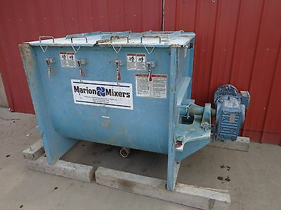 Marion Batch Paddle Mixer Model SPO-3648 / 30 Cu. Ft. 10 HP Sew-Eurodrive Motor