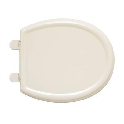 American Standard 5345.110.222 Slow Close Round Front Toilet Seat Cover Linen