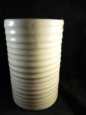 Frankoma Ringed Vase #172 Light Green Oklahoma Pottery