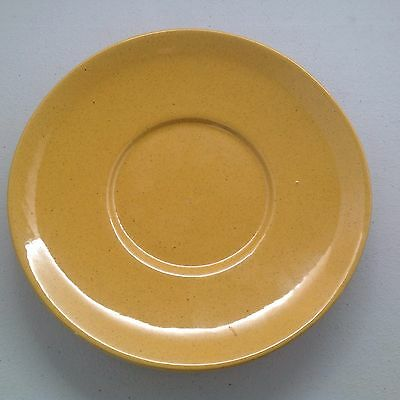 "Frankoma Saucers Westwind Pattern 6E Yellow 6"" 7 Available"