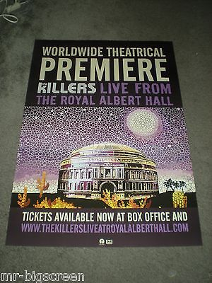 The Killers - Live From The Royal Albert Hall - Original Promo Poster - 27 X 39