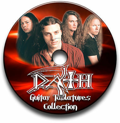 Death Heavy Metal Rock Guitar Tab Tablature Song Book Software Cd