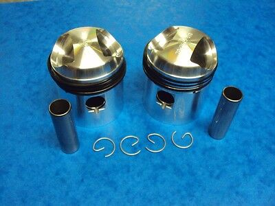 Triumph Piston Set Tiger T100 Pre Unit 63Mm +040 1939-58  70-3615  Lf Harris