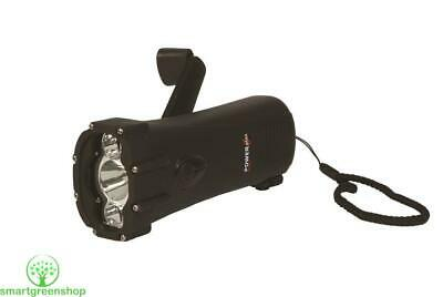 POWERplus Shark Waterproof Rugged LED Dynamo Torch and Phone Charger