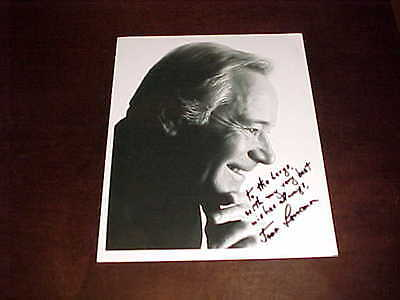 Actor Jack Lemmon Autographed Signed Photo with inscription