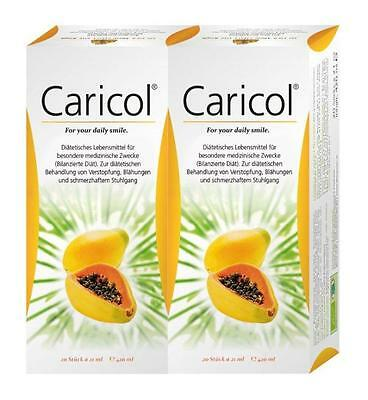Caricol Stickpacks Doppelpackung 40X21ml PZN: 10064863