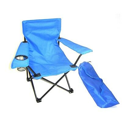 Redmon Kids Folding Camp Chair with Matching Tote bag - 9006BL