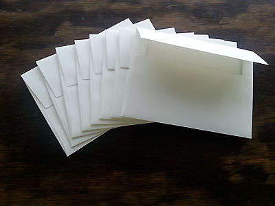 """500 White A-6 Envelopes 4 3/4"""" x 6 1/2"""" For Invitation Cards or Announcements"""