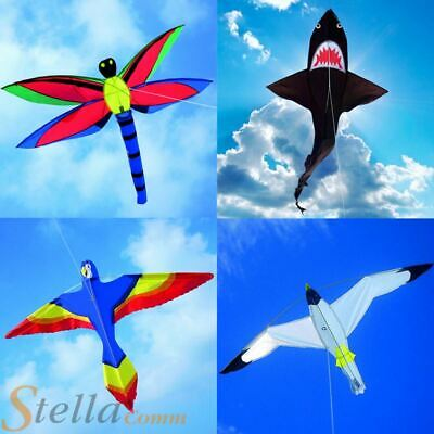 Brookite Animal Bird Single Line Kids Fibreglass Frame Nylon Kite Kites