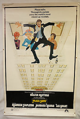 Plaza Suite Original Movie Poster 1971 Walter Mattau