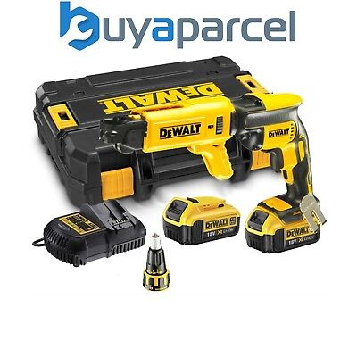 Dewalt DCF620M2K 18v XR Li-Ion Brushless Collated Drywall Screwgun Autofeed