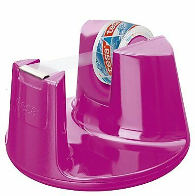 Tesa Tischabroller 53823 Easy Cut Compact PINK inkl. 1 Rolle 10x15mm
