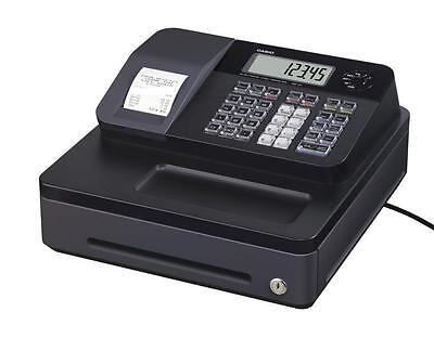 NEW CASIO SE-G1 SD-B BLACK ELECTRONIC CASH REGISTER SHOP TILL or THERMAL ROLLS
