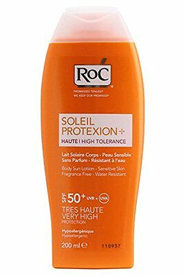 RoC Sun Protection High Tolerance Sun Lotion SPF 50+ 200ml