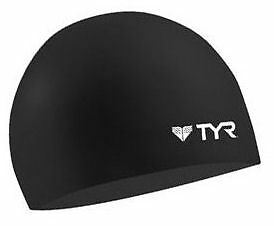 Tyr Wrinkle Free Silicone Cap Black Silicone