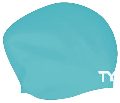 Tyr Long Hair Wrinkle Free Silicone Cap Mint Silicone