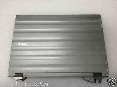 New RK146 RK146 Dell Precision M2400 14.1 LCD Back Top Cover Lid Plastic Assembly w// hinges for CCFL Display