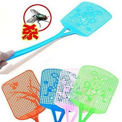 FD983 Bug Insect Fly Pest Mosquito Swatter Racket Handle Killer ~Random 1pc~:) Z