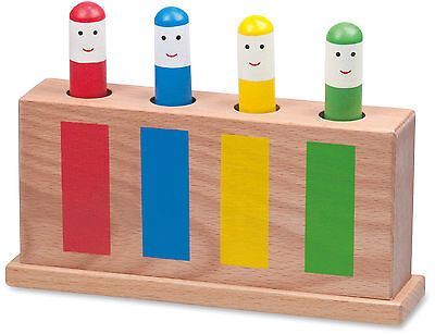 Galt POP-UP WOODEN TOYS Baby/Toddler/Child Colourful Activity Toy BN