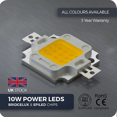 1/ 5/ 10 / 20 pcs 10W High Power LED - Grow lights aquarium LED COB PCB heatsink