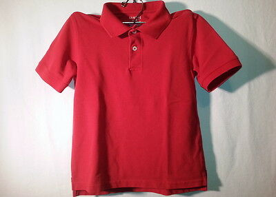 NWOT George Short Sleeve Red Polo Shirt - Size S (6/7)
