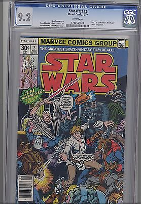 Star Wars #2  CGC 9.2 1977  Marvel  Comic