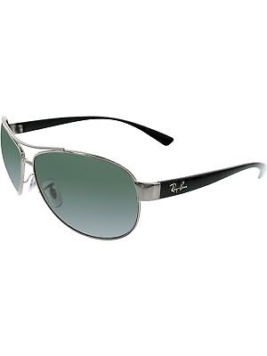 500caf55a8 RAY-BAN MEN S POLARIZED RB3522-004 9A-64 Black Aviator Sunglasses ...