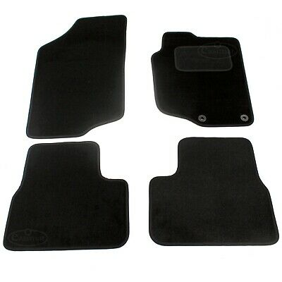 Peugeot 207 Deluxe Tailored Carpet Car Floor Mat 2006 onwards Black 4pcs  736