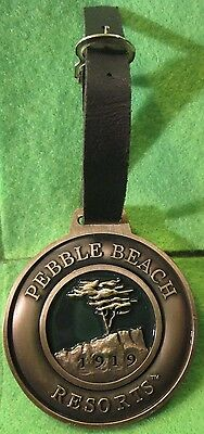 Pebble Beach Resorts 1919 Spanish Bay Del Monte Spyglass Hill, Black Enamel
