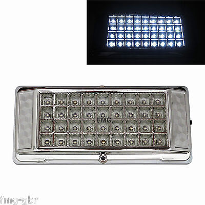 36 Led Panel Innenraum Beleuchtung 24v Lkw Lampe Taxi Transporter Camping Weiss Eur 8 99 Picclick De