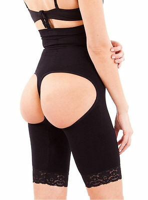 High Waist Butt Lifter Trainer Thigh Control Full Body Shapewear Bodysuit Shaper