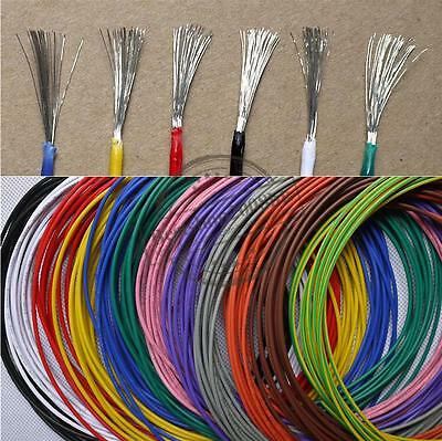 16AWG~28AWG UL 1007 environmental Electronic wire conductor DIY colorfull