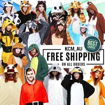 Adult Kid Animal Onesie Jumpsuit over 80 designs Costume Fast Ship from Sydney
