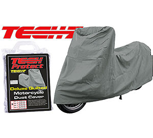 Tech 7 Deluxe Quilted Indoor Lined Motorcycle Dust Cover Extra Large New