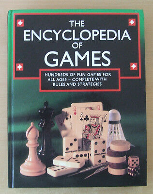 The Encyclopedia of Games - Hundreds of Fun Games for All Ages - Complete with