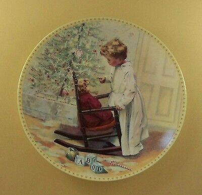 Memories of a Victorian Childhood YOU'D BETTER NOT POUT Plate #1 Christmas + COA