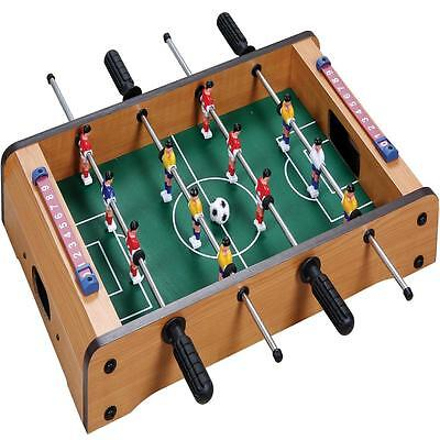 Mini Table Top Football Foosball Players Family Game Toy Kids Play Set Xmas Gift