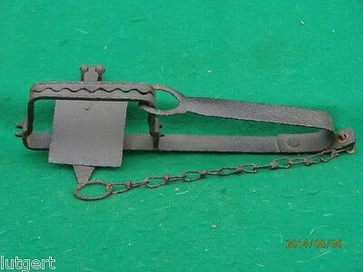 """Antique English Rabbit Trap. Within eBay rules & regulations, less than 5.5"""""""
