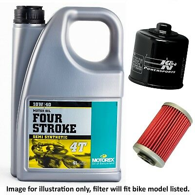 Honda CB 900 FA D.O.H.C. 1980 Motorex Four Stroke Oil / K&N Filter Kit