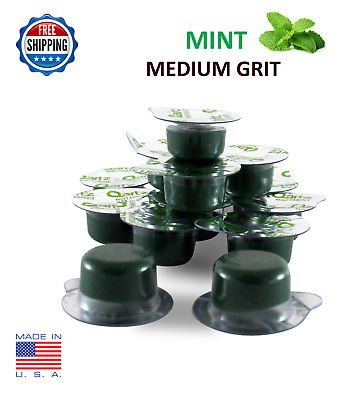 14 Cups Tooth Polishing Paste MINT MEDIUM GRIT Teeth Whitening Polish USA