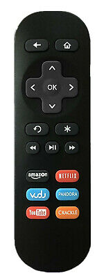 New Roku Streaming Player Replacement Remote 02 for Roku 1/2/3/4 LT HD XD XS