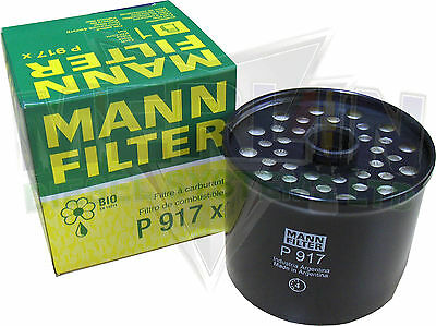 Deutz Inline Fuel Filter Mann And Hummel P917X All Seals Included