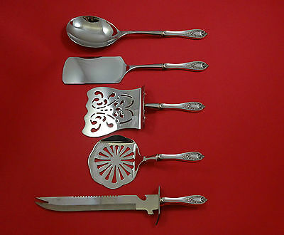 Old Colony by 1847 Rogers Plate Silverplate Brunch Serving Set 5pc HHWS  Custom